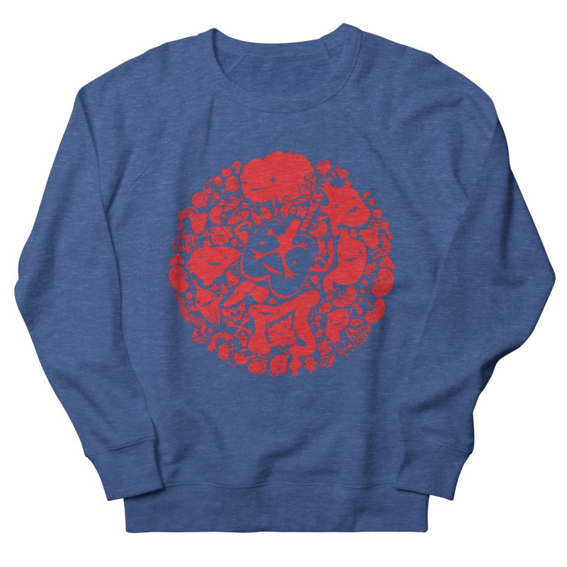 Circle of Guts Men's Sweatshirt by I Heart Guts