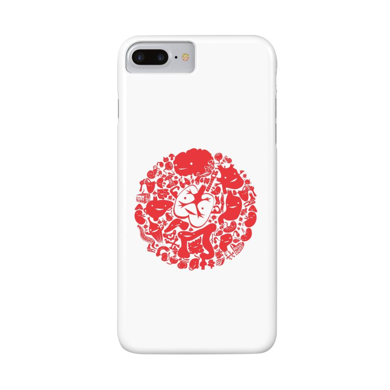 Circle of Guts Accessories Phone Case by I Heart Guts