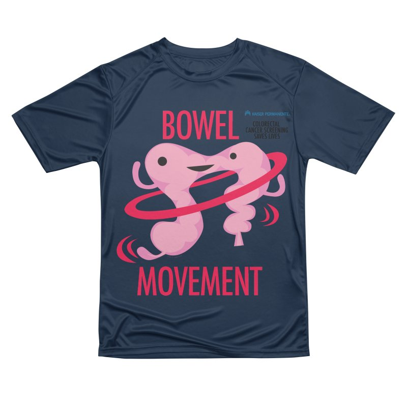 Bowel Movement - Kaiser Permanente Colorectal Cancer Screening Month Men's Performance T-Shirt by I Heart Guts
