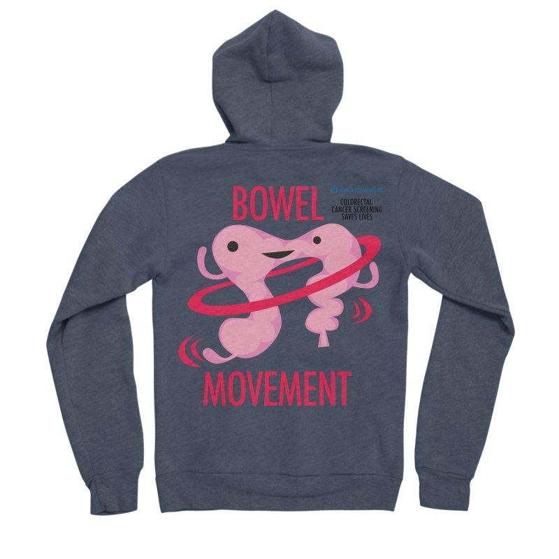 Bowel Movement - Kaiser Permanente Colorectal Cancer Screening Month Men's Sponge Fleece Zip-Up Hoody by I Heart Guts