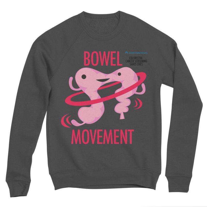 Bowel Movement - Kaiser Permanente Colorectal Cancer Screening Month Men's Sponge Fleece Sweatshirt by I Heart Guts