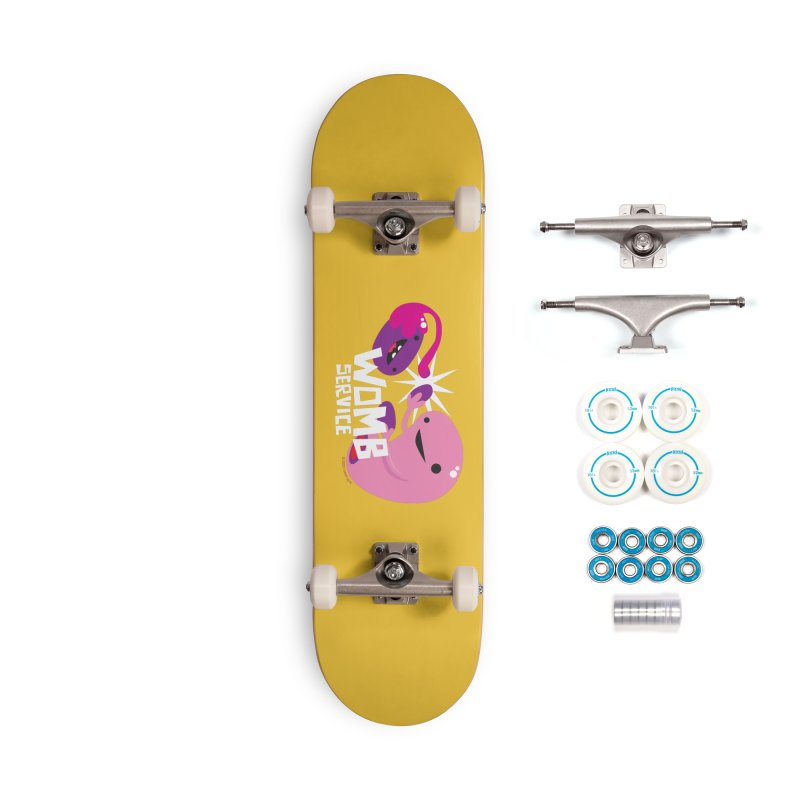 Womb Service Accessories Skateboard by I Heart Guts