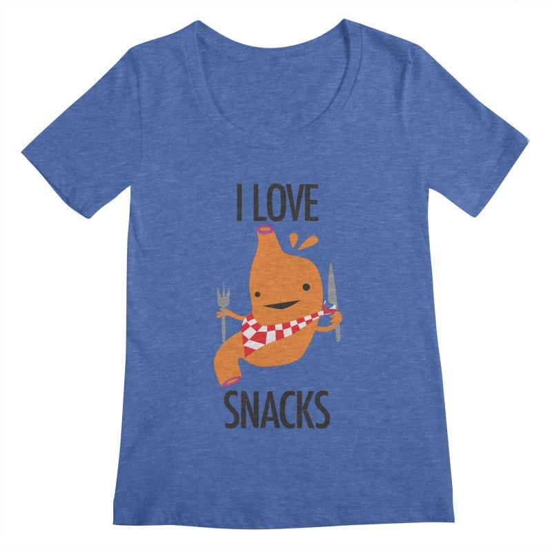 Stomach - I Love Snacks   by I Heart Guts