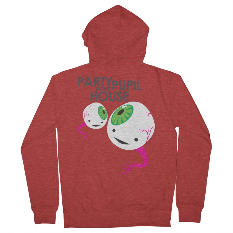 Eyeball - Party Pupil in the House Women's Zip-Up Hoody by I Heart Guts