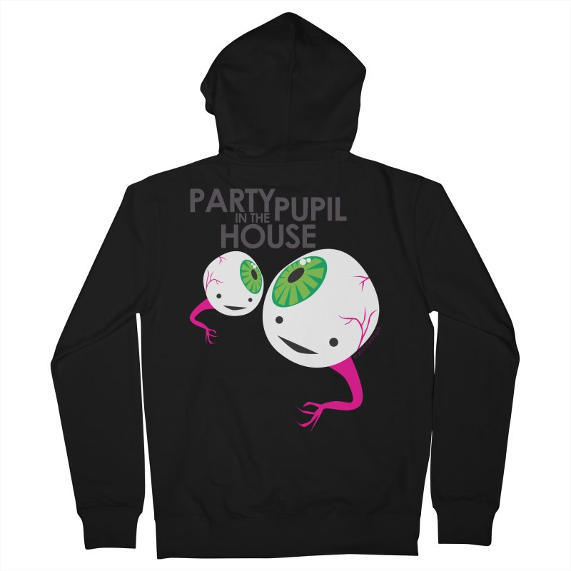Eyeball - Party Pupil in the House Men's Zip-Up Hoody by I Heart Guts