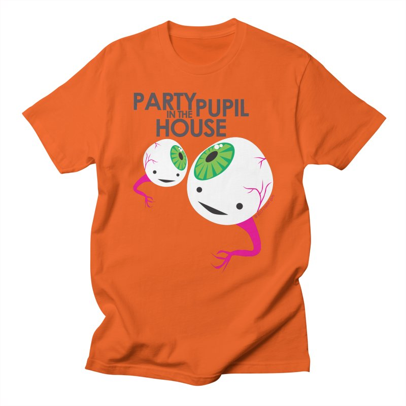 Eyeball - Party Pupil in the House Men's T-Shirt by I Heart Guts