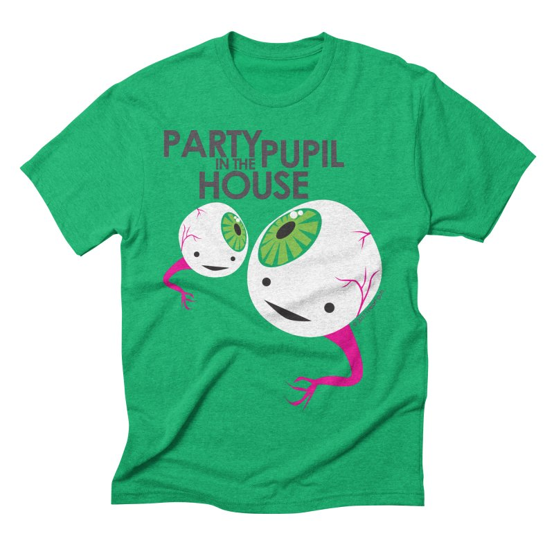 Eyeball - Party Pupil in the House Men's Triblend T-shirt by I Heart Guts