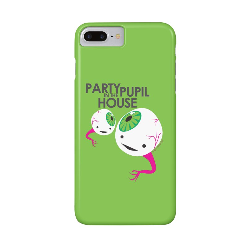 Eyeball - Party Pupil in the House Accessories Phone Case by I Heart Guts