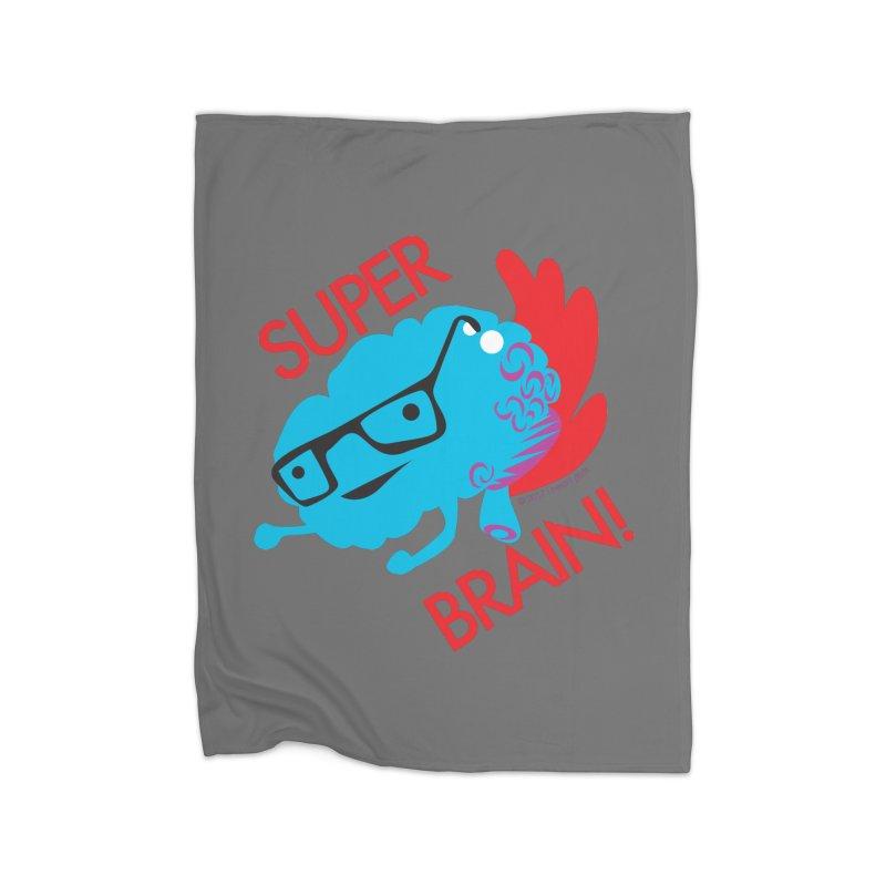 Super Brain! Home Blanket by I Heart Guts