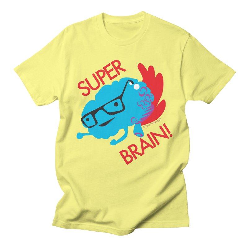 Super Brain! Men's T-shirt by I Heart Guts