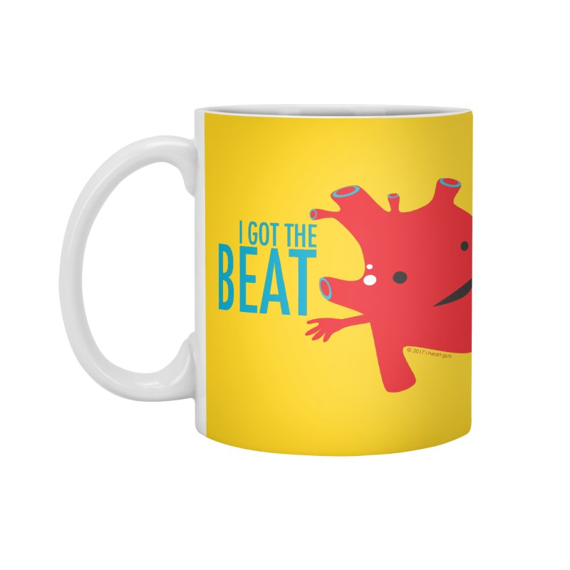Heart - I Got The Beat Accessories Mug by I Heart Guts