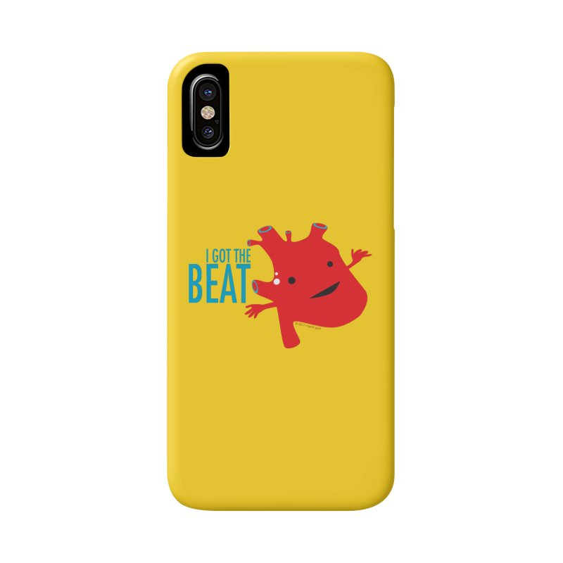 Heart - I Got The Beat Accessories Phone Case by I Heart Guts