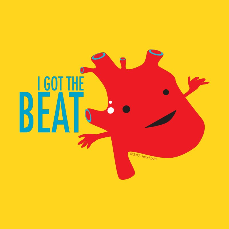Heart - I Got The Beat Men's T-Shirt by I Heart Guts