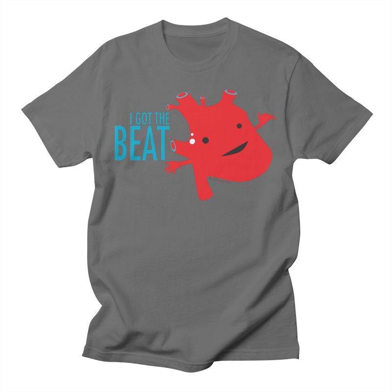 Heart - I Got The Beat Men's T-Shirt by I Heart Guts