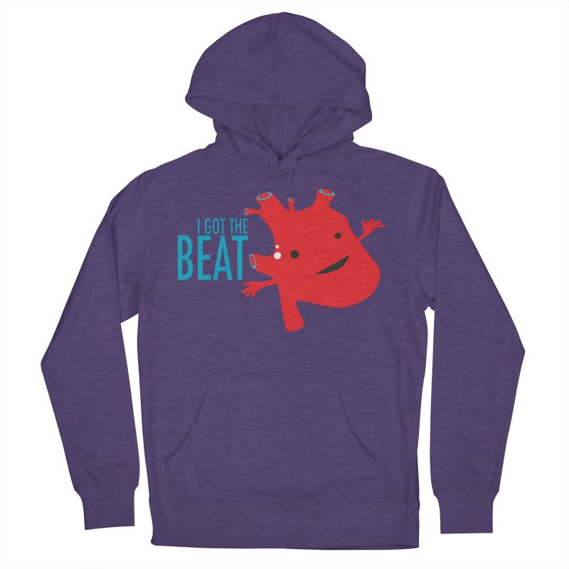 Heart - I Got The Beat Women's Pullover Hoody by I Heart Guts