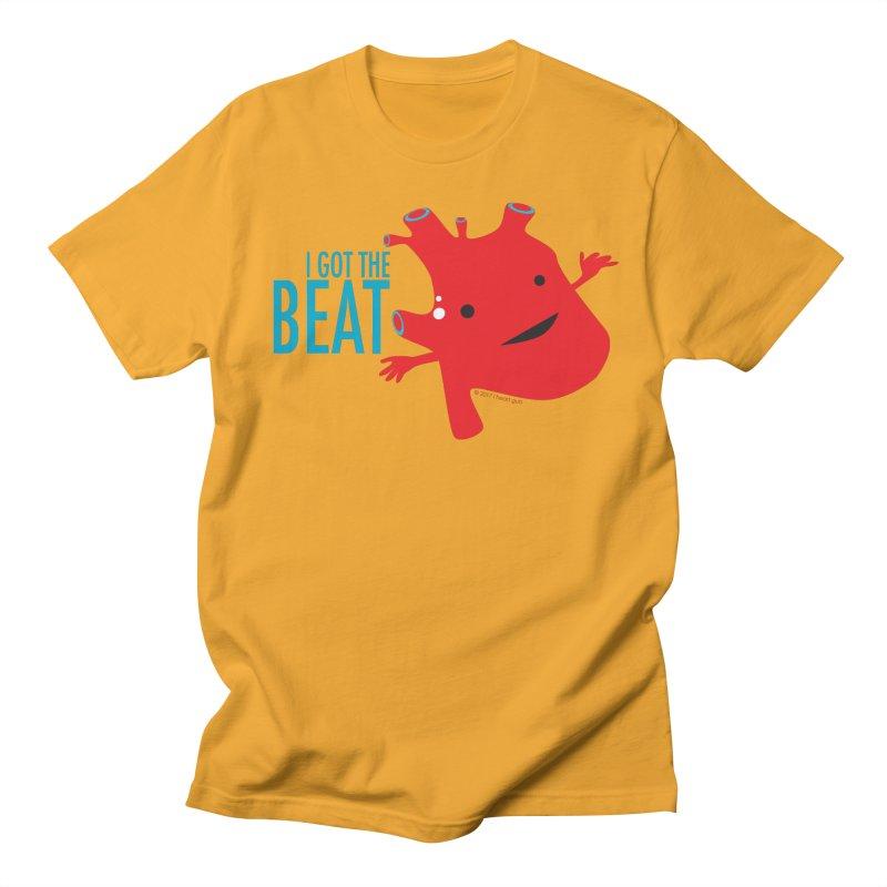 Heart - I Got The Beat Women's Unisex T-Shirt by I Heart Guts