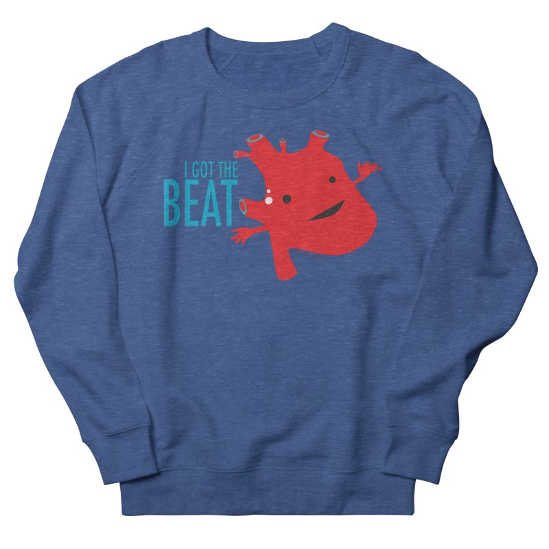 Heart - I Got The Beat Men's Sweatshirt by I Heart Guts