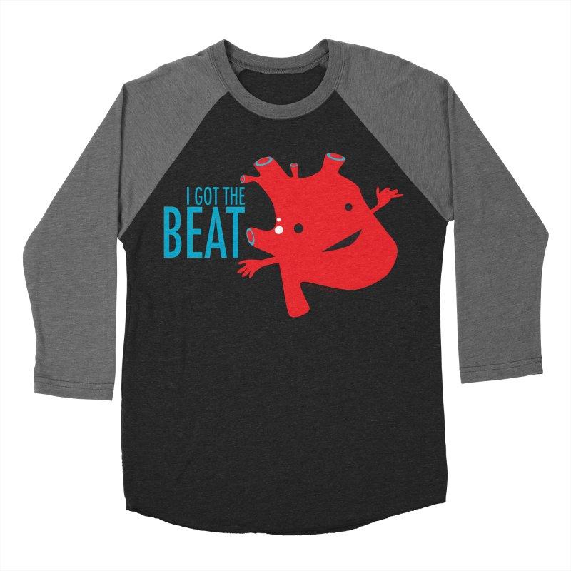 Heart - I Got The Beat Men's Baseball Triblend T-Shirt by I Heart Guts