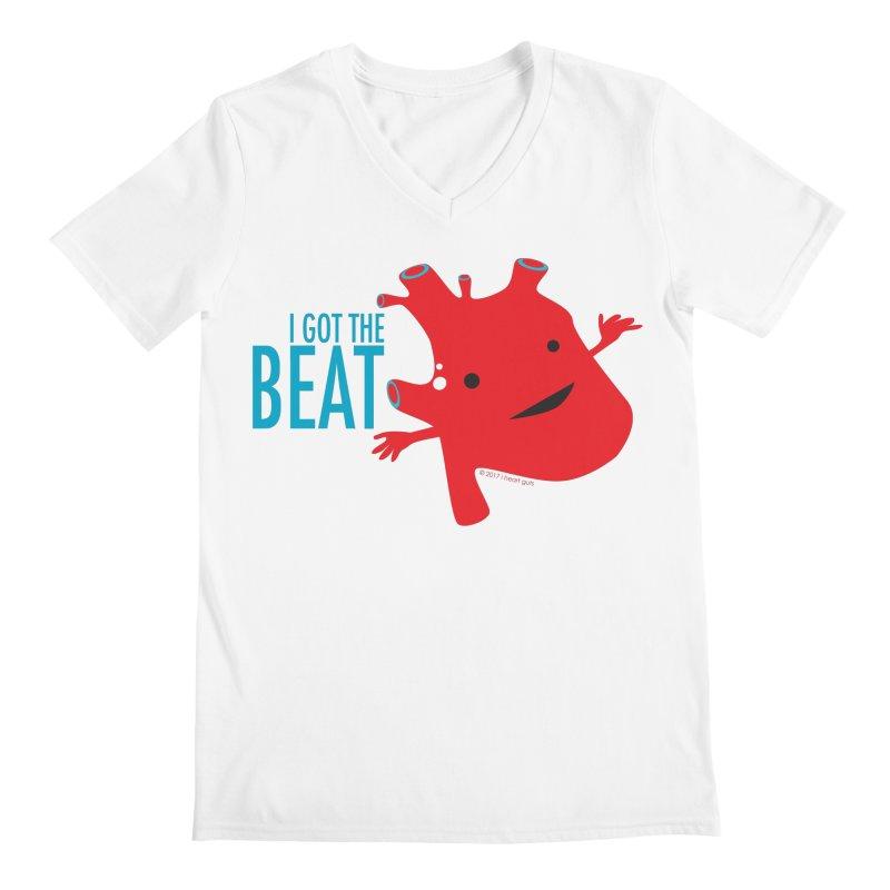 Heart - I Got The Beat Men's V-Neck by I Heart Guts
