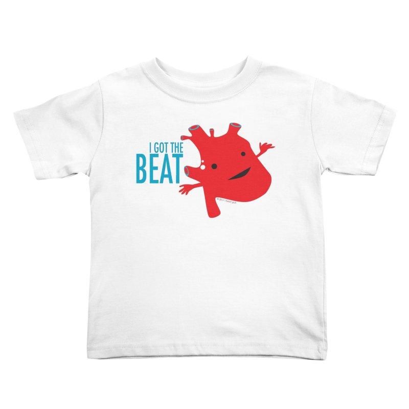 Heart - I Got The Beat Kids Toddler T-Shirt by I Heart Guts