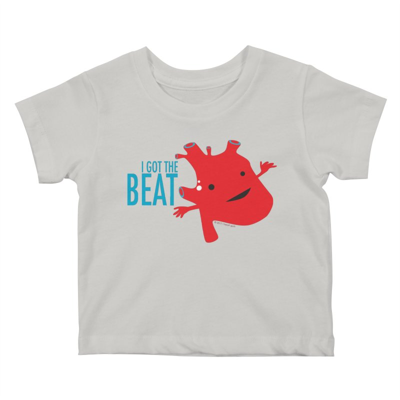 Heart - I Got The Beat Kids Baby T-Shirt by I Heart Guts