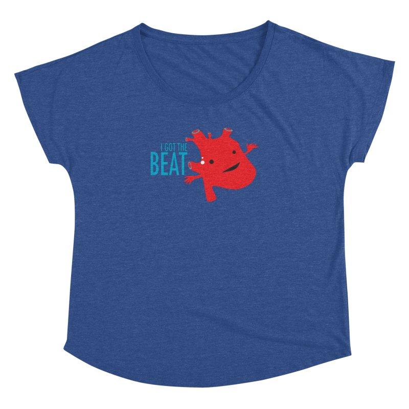 Heart - I Got The Beat Women's Dolman by I Heart Guts