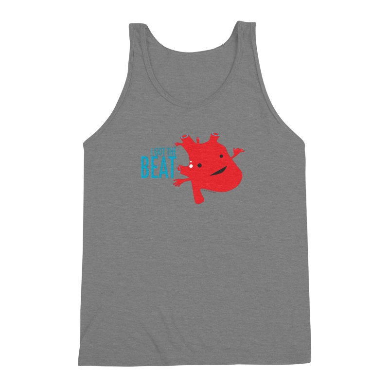 Heart - I Got The Beat Men's Triblend Tank by I Heart Guts