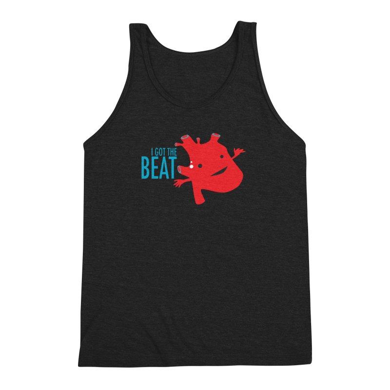 Heart - I Got The Beat Men's Triblend Tank by I Heart Guts