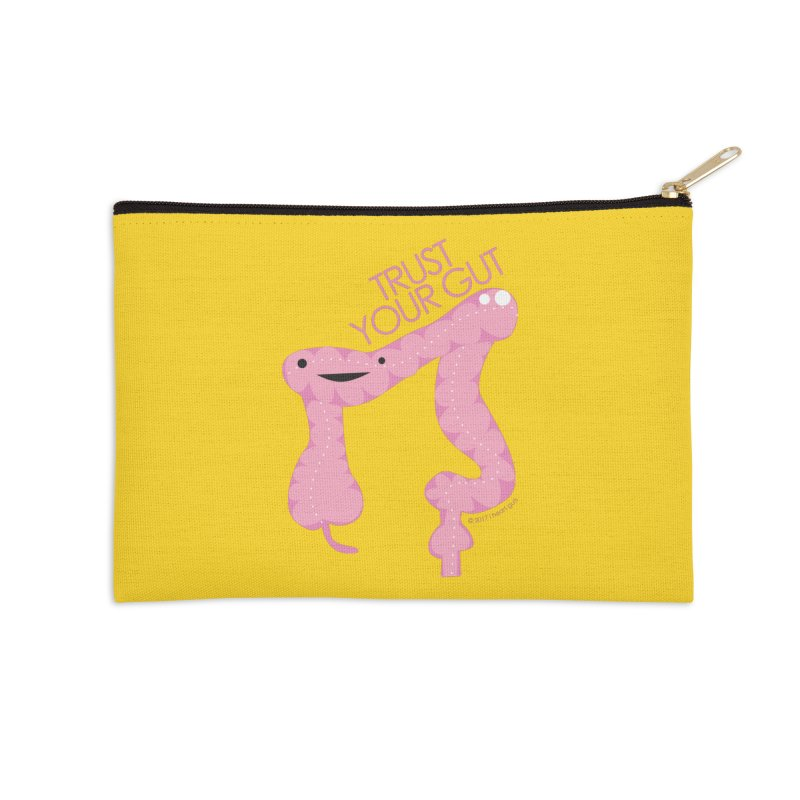 Trust Your Gut Accessories Zip Pouch by I Heart Guts