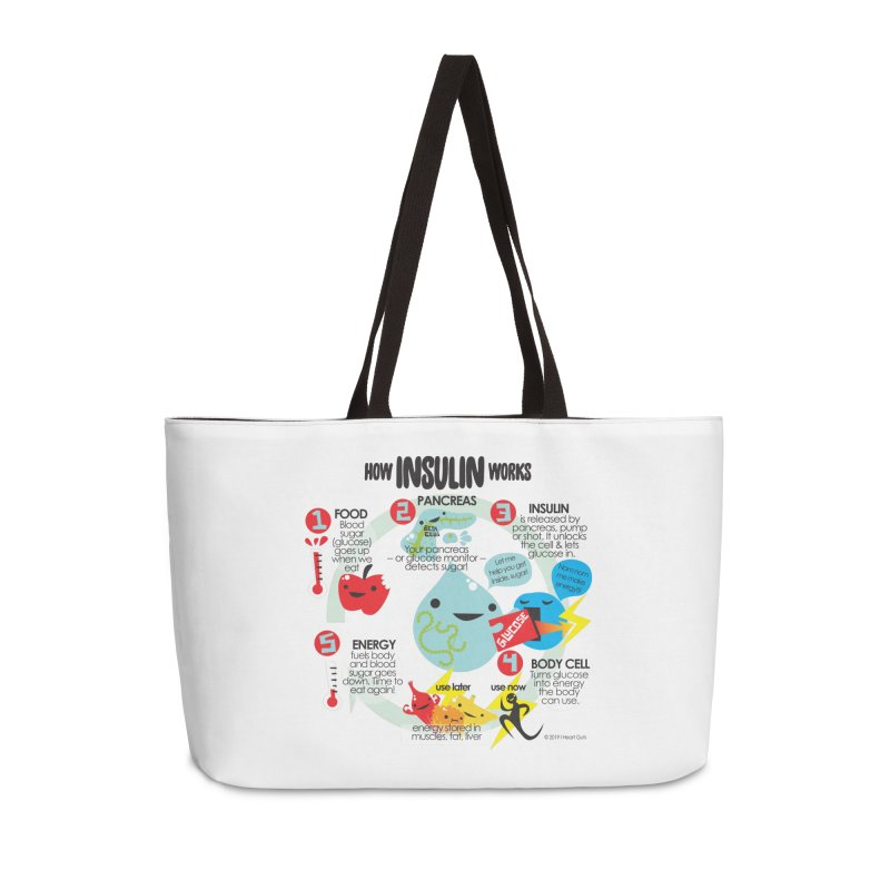 How Insulin Works Accessories Bag by I Heart Guts