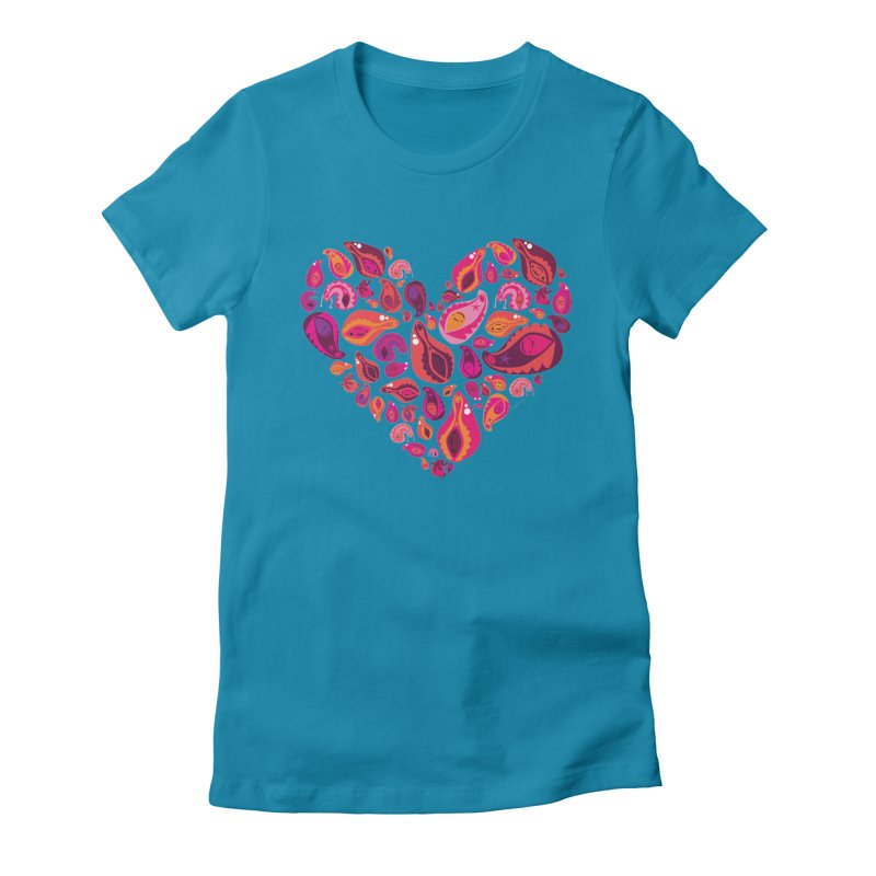 Vadges of Many Colors Women's T-Shirt by I Heart Guts