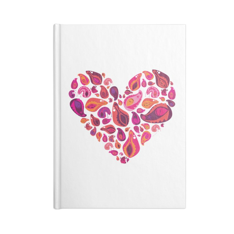 Vadges of Many Colors Accessories Notebook by I Heart Guts