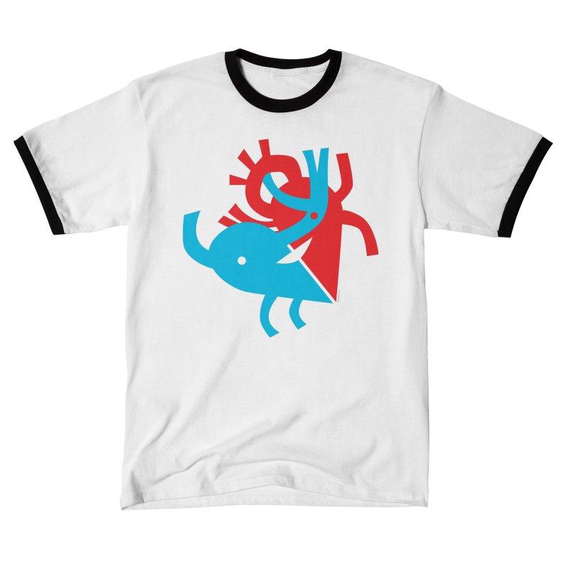 Cute Cardiology Men's T-Shirt by I Heart Guts