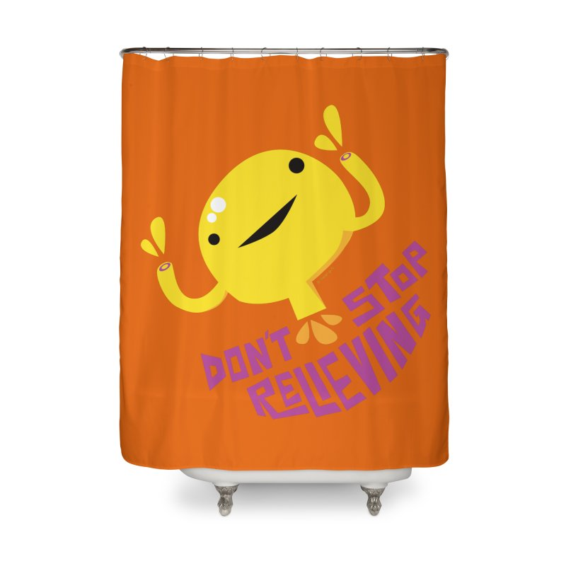Bladder - Don't Stop Relieving Home Shower Curtain by I Heart Guts