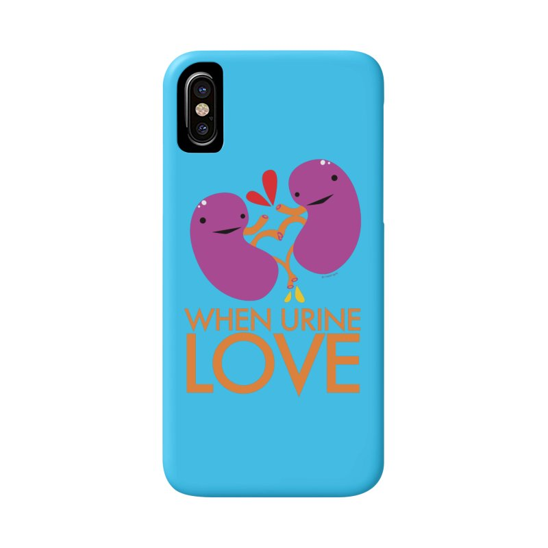 Kidney - When Urine Love in iPhone X Phone Case Slim by I Heart Guts