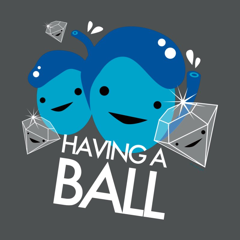 Testicle - Having A Ball Men's T-Shirt by I Heart Guts