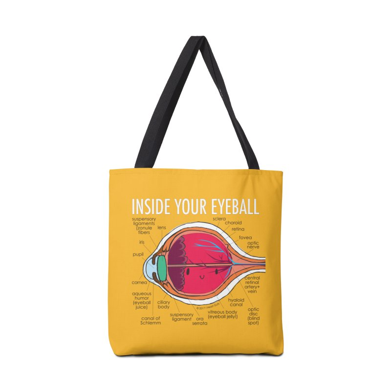 Inside Your Eyeball Accessories Bag by I Heart Guts