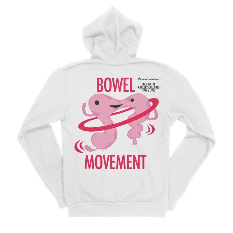 Bowel Movement - Kaiser Colorectal Screening Men's Zip-Up Hoody by I Heart Guts