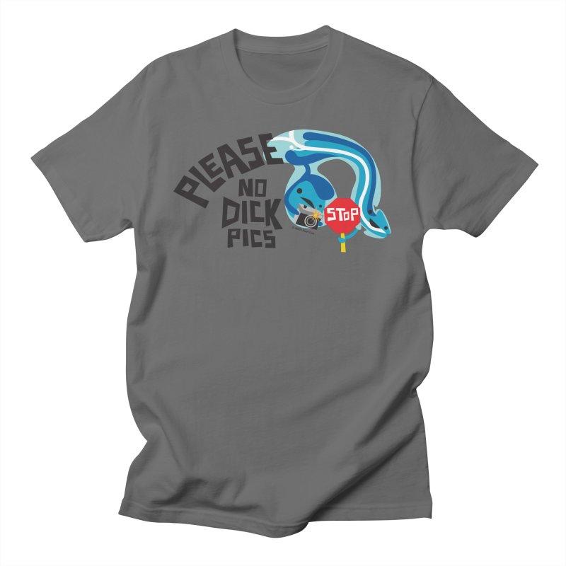 Please No D Pics Men's T-Shirt by I Heart Guts