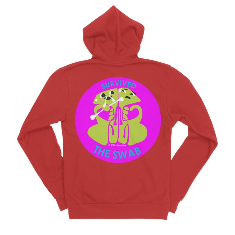 Survived the Swab Men's Zip-Up Hoody by I Heart Guts