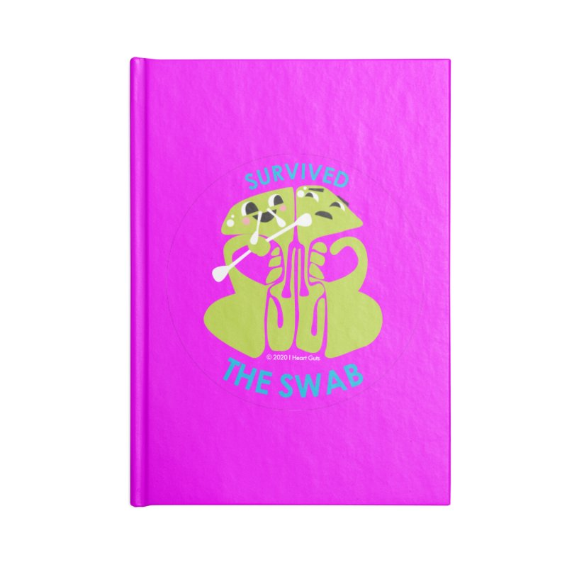 Survived the Swab Accessories Notebook by I Heart Guts