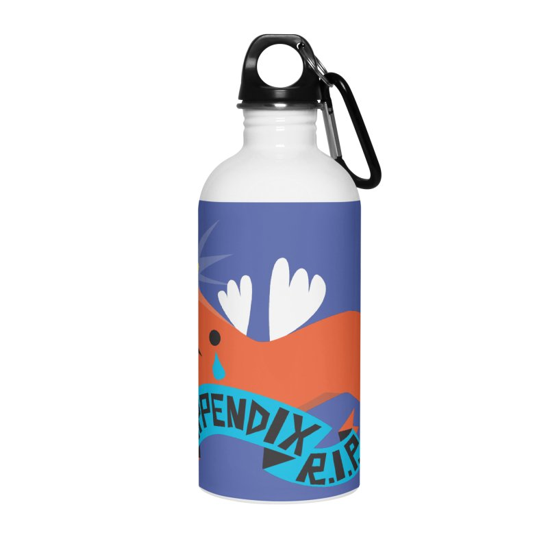 Appendix Rest in Peace Accessories Water Bottle by I Heart Guts
