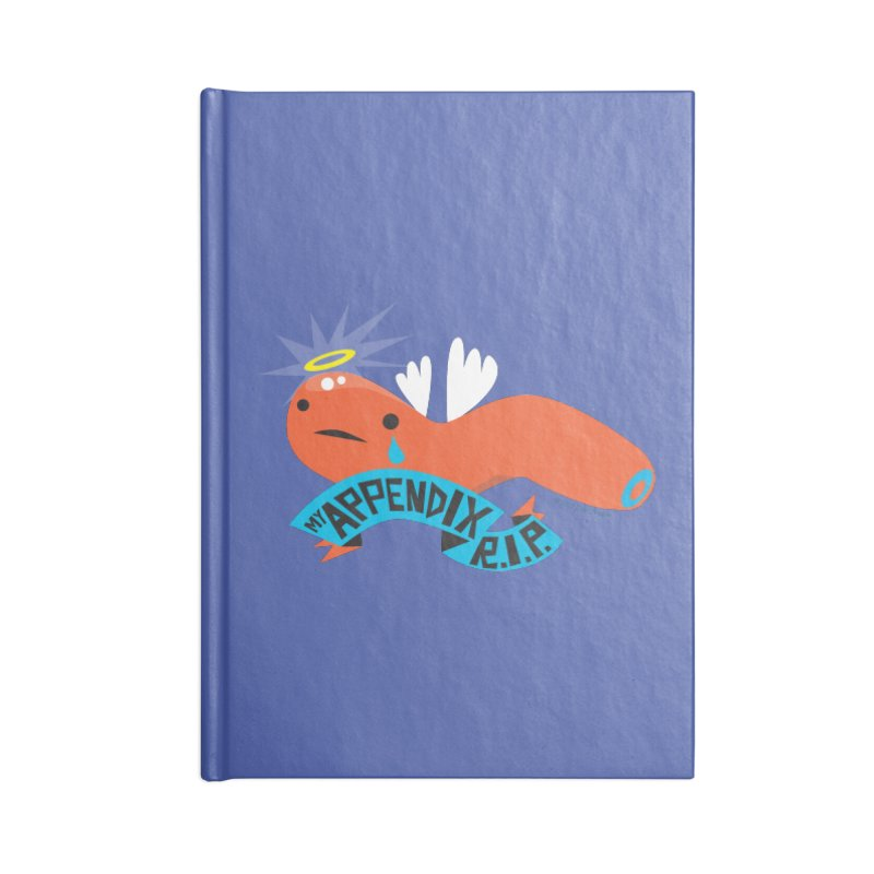 Appendix Rest in Peace Accessories Notebook by I Heart Guts