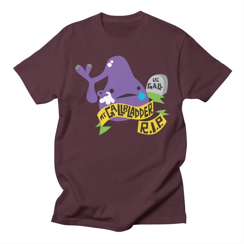 Gallbladder Rest In Peace Men's T-shirt by I Heart Guts