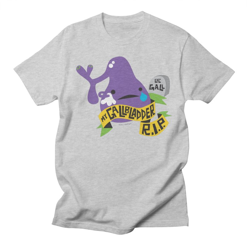 Gallbladder Rest In Peace Men's T-shirt by I Heart Guts