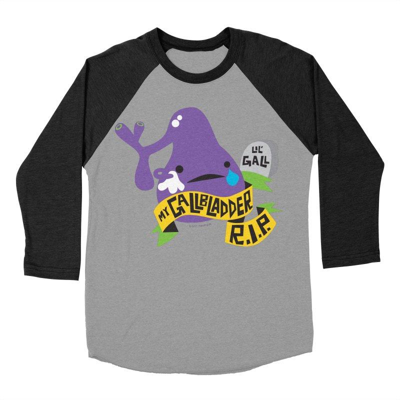 Gallbladder Rest In Peace Women's Baseball Triblend T-Shirt by I Heart Guts