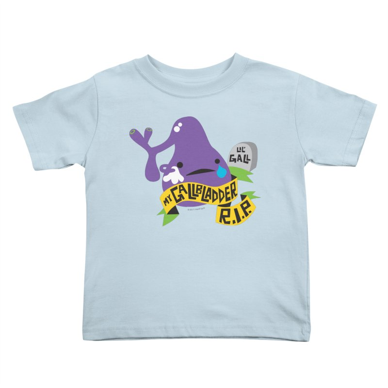 Gallbladder Rest In Peace Kids Toddler T-Shirt by I Heart Guts