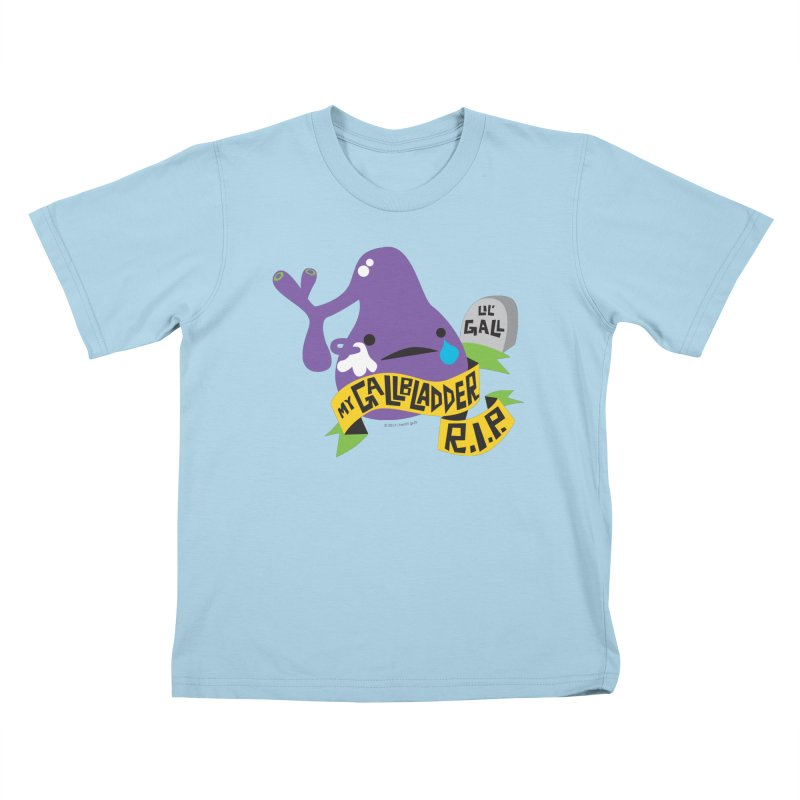 Gallbladder Rest In Peace Kids T-Shirt by I Heart Guts