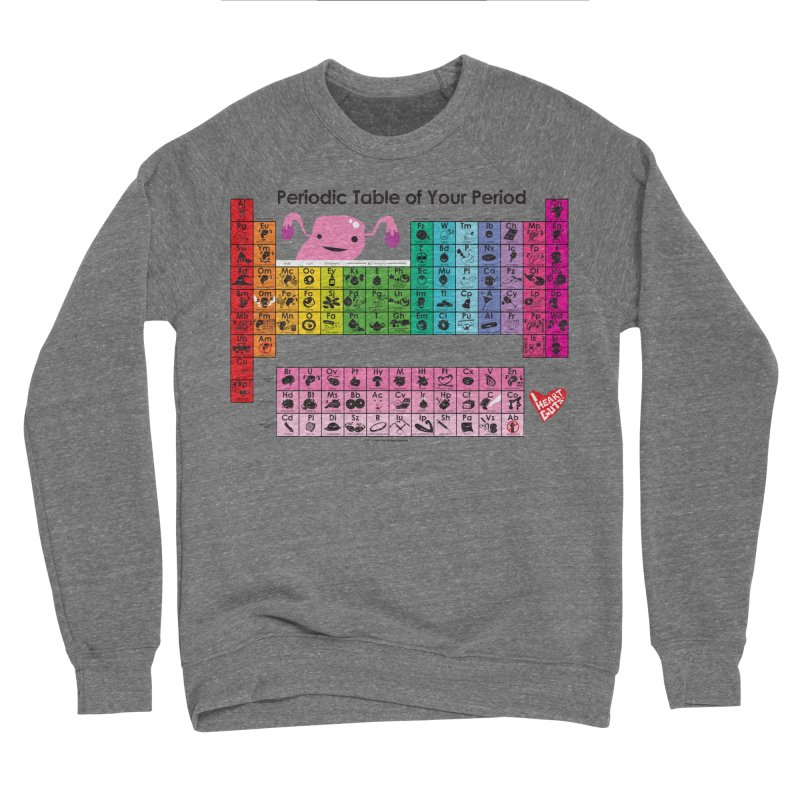 Periodic Table of Your Period Men's Sweatshirt by I Heart Guts