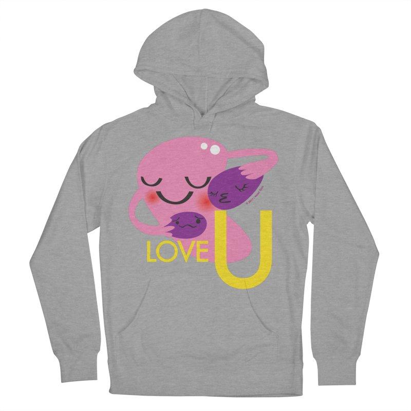 Love U Men's Pullover Hoody by I Heart Guts
